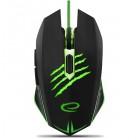 Mysz Gamingowa | 2400 DPI | 7 Przycisków | Green Light