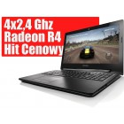 "Laptop LENOVO GAMER A6-6310 4x2.4Ghz 15.6"" HD 8GB 1TB Radeon + 500zł"