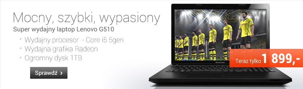 Mocny i szybki Lenovo G510