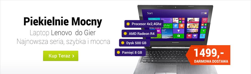 Promocja laptopa Lenovo do gier